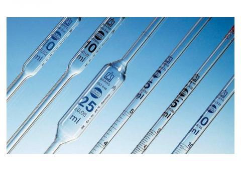 Venta de pipetas volumétricas vidrieria