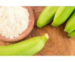 Banano en polvo